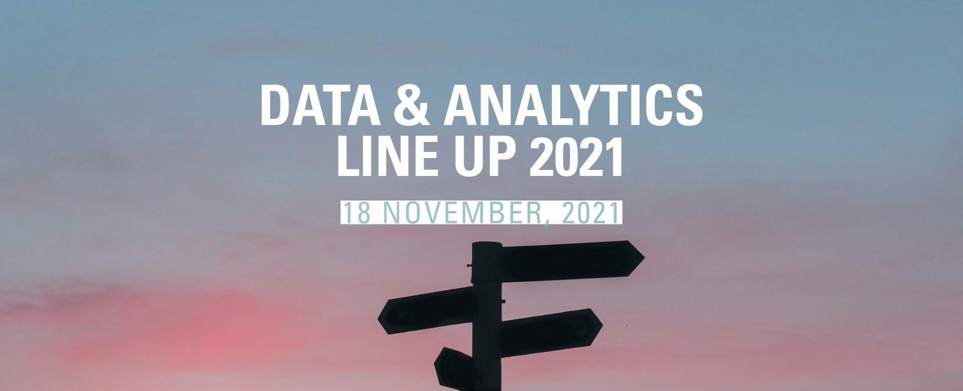 Data and Analytics line up